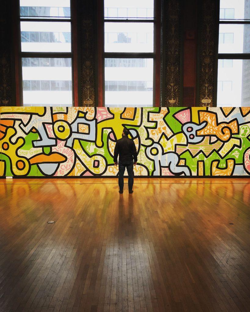 beurs abstracte kunst